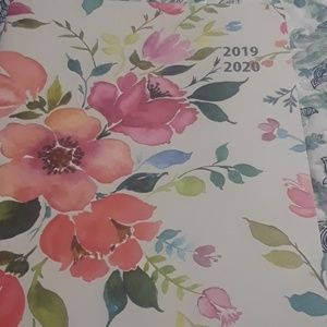 floral notebook ,  journal  and planner